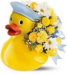 Just Ducky Bouquet - Boy Flower Power, Florist Davenport FL